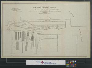 Primary view of object titled 'Map of Chicago Harbor Illinois'.