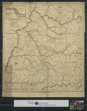 Primary view of object titled 'A [1793] map of Kentucky drawn from actual observations by John Filson.'.