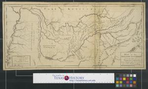 Primary view of A map of the Tennassee [sic] Government.