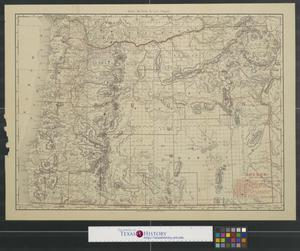 Primary view of object titled 'Rand McNally & Co.'s Oregon.'.