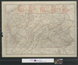 Primary view of object titled 'Rand McNally & Co.'s Pennsylvania.'.