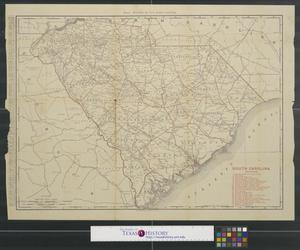 Primary view of object titled 'Rand, McNally & Co.'s South Carolina.'.