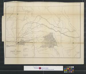 Primary view of object titled 'Map of a part of Washington Territory east of Cascade Mtns.'.