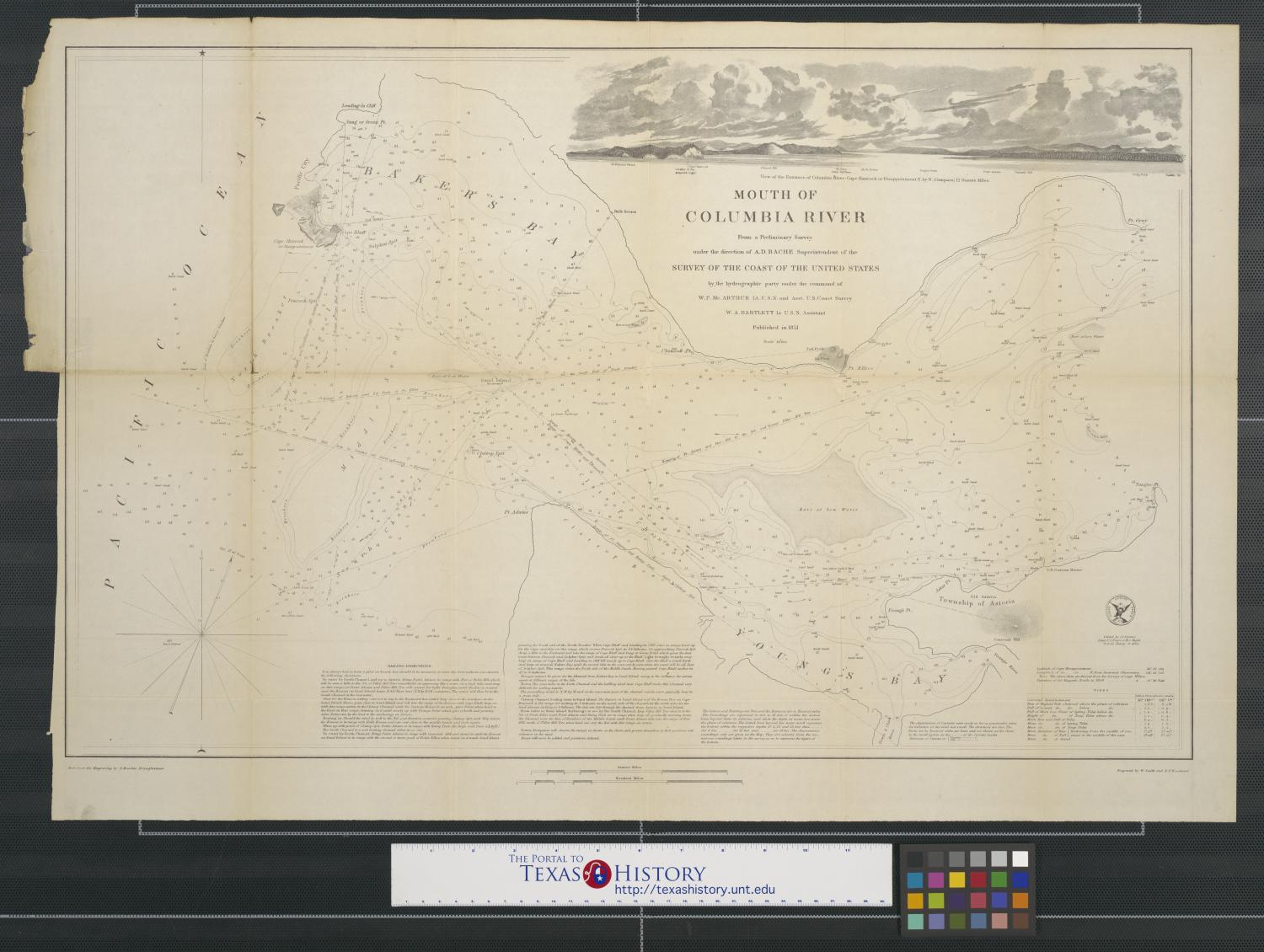 Mouth of columbia river the portal to texas history nvjuhfo Image collections