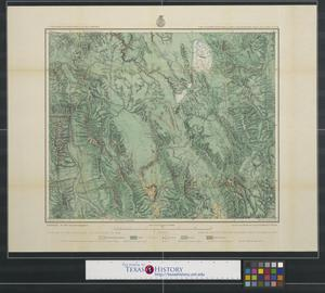 Primary view of object titled 'Land classification map of part of South Eastern Idaho : atlas sheet no.32(D).'.