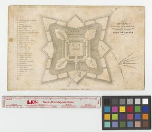 Primary view of object titled 'Ground plan of the Castle of Perote'.