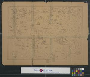 Primary view of object titled 'Map showing Indian reservations in the United States west of the 84th meridian and number of Indians belonging thereto, 1880.'.