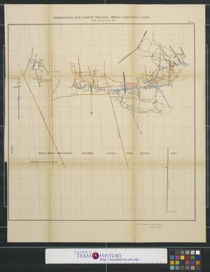 Primary view of object titled 'Horizontal Map North Virginia Mines, Comstock Lode.'.