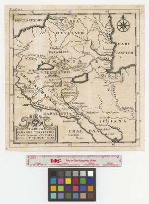 Primary view of Tabula Paradisi Terrestris Juxta Systema Auctoris.