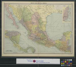 Primary view of object titled 'Mexico and Central America.'.