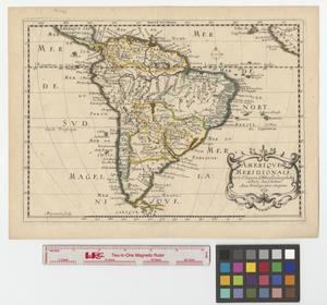 Primary view of Amerique meridionale par le sr. Sanson d'Abbeville