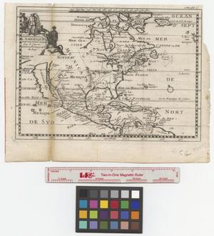 Primary view of L'Amerique Septentrionale par N. Sanson, d'Abbeville geograph du roy