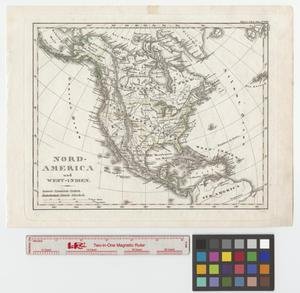Primary view of object titled 'Nord-America und West-Indien.'.