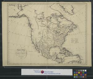 Primary view of object titled 'A General Map of North America drawn from the best surveys.'.