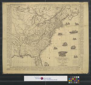 Primary view of object titled 'An improved map of the United States.'.