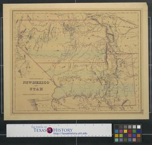 Primary view of object titled 'Territories of New Mexico and Utah'.