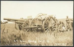Primary view of object titled '[U.S. Army Artillery Cannon]'.