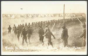Primary view of object titled '[U.S. Army Troops Hiking]'.