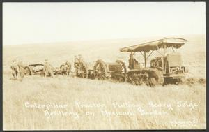 Primary view of object titled '[Siege Artillery on the Mexican Border]'.