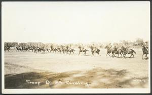 Primary view of object titled '[Cavalry Drilling Exercise #3]'.
