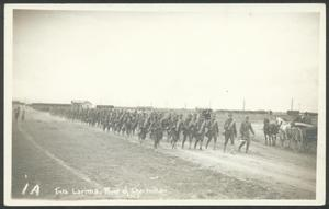 Primary view of object titled '[Soldiers Hiking]'.