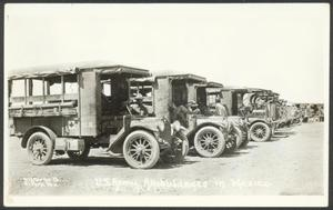 Primary view of object titled '[Army Ambulances]'.