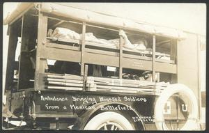 Primary view of object titled '[Army Field Ambulance]'.