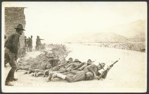 Primary view of object titled '[Infantry in Action #2]'.