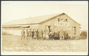 Primary view of object titled '[Camp Pershing YMCA]'.