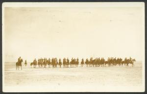 Primary view of object titled '[Soldiers on Horses]'.