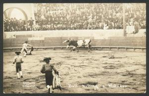 Primary view of object titled '[Bull Killing a Matador]'.