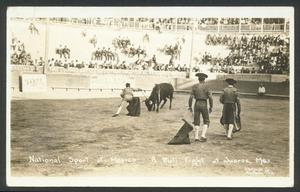 Primary view of object titled '[Bullfight in Juarez, Mexico 2]'.