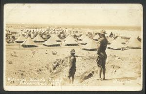 Primary view of object titled '[National Guard Camp]'.