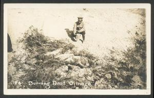 Primary view of object titled '[Burning Dead, Ojinaga]'.