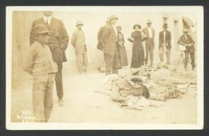Primary view of object titled '[Identifying the Dead]'.