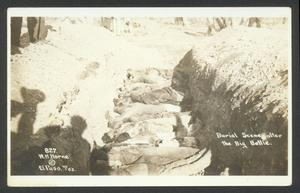 Primary view of object titled '[Burial Scene After the Big Battle]'.