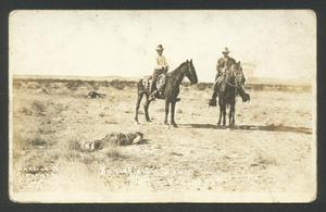 Primary view of object titled '[Battlefield Scene Near Columbus, NM]'.
