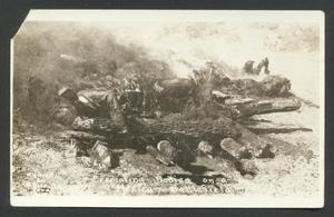 Primary view of object titled '[Cremating Bodies on a Mexican Battlefield 2]'.