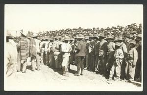 Primary view of object titled '[A Crowd Watches the Executions]'.