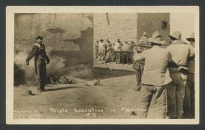 Primary view of object titled '[Triple Execution in Mexico]'.