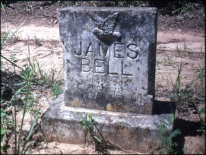 [Grave of James Bell, Marshall]