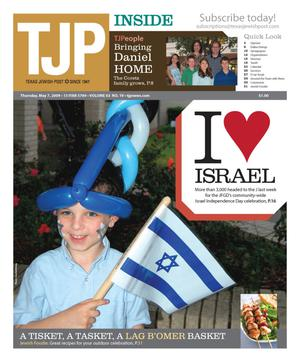 Primary view of object titled 'Texas Jewish Post (Fort Worth, Tex.), Vol. 63, No. 19, Ed. 1 Thursday, May 7, 2009'.