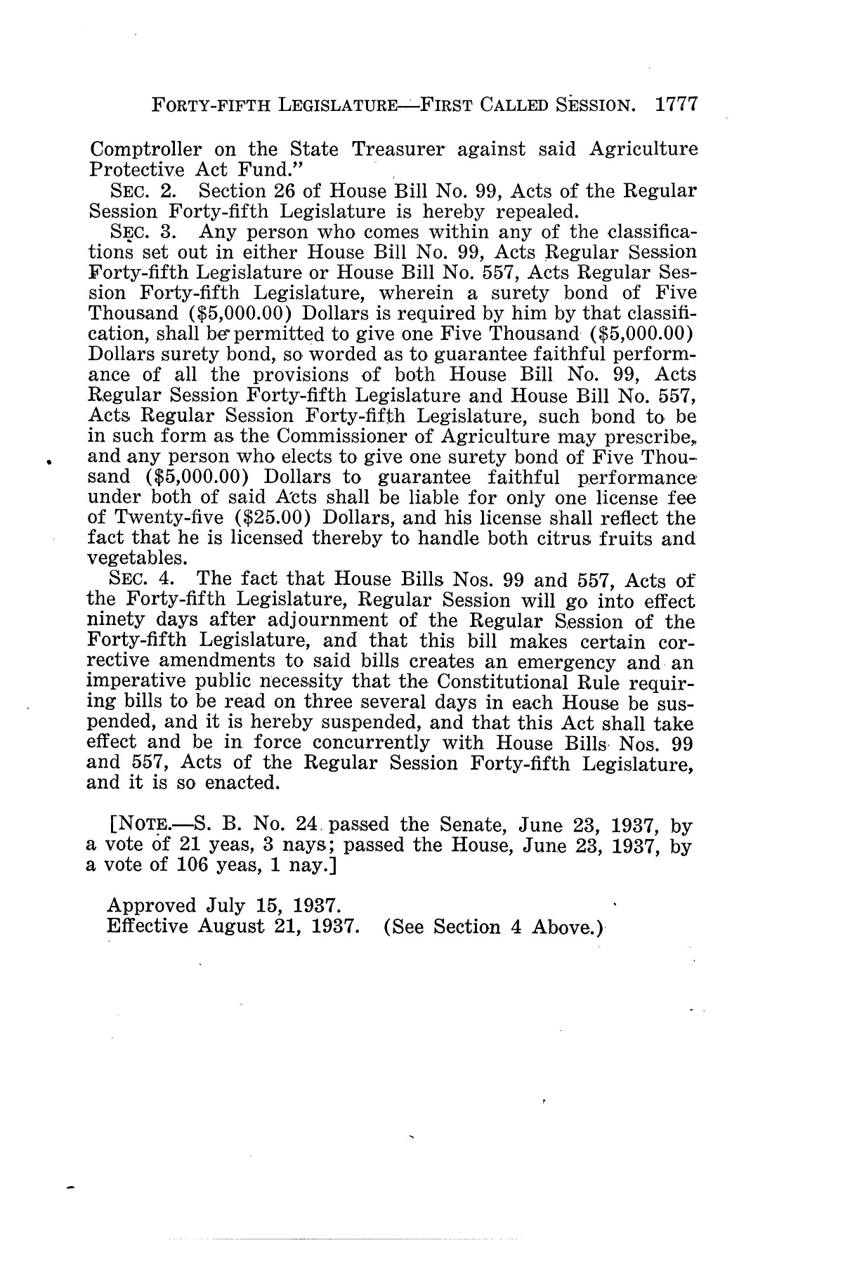 The Laws of Texas, 1937-1939 [Volume 31]                                                                                                      [Sequence #]: 49 of 1313