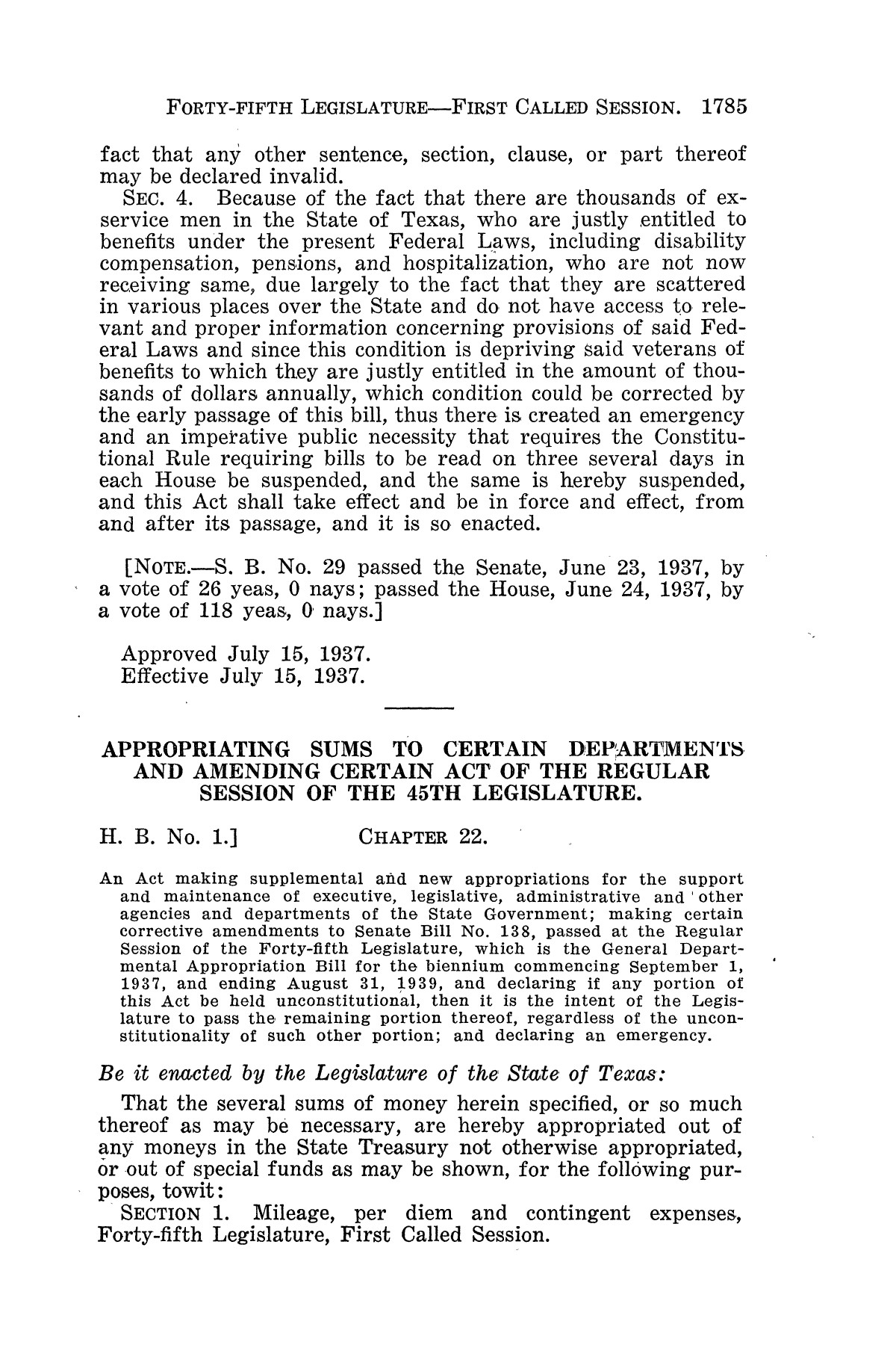The Laws of Texas, 1937-1939 [Volume 31]                                                                                                      [Sequence #]: 57 of 1313