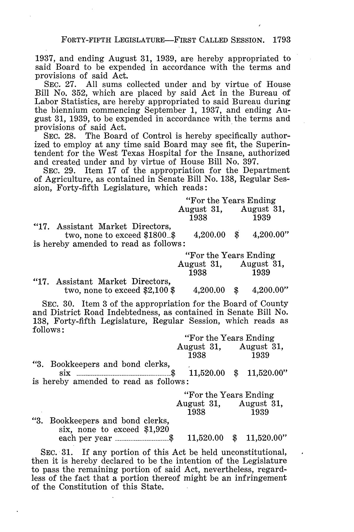 The Laws of Texas, 1937-1939 [Volume 31]                                                                                                      [Sequence #]: 65 of 1313