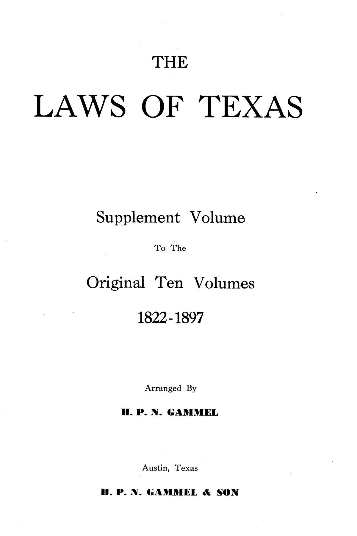 The Laws of Texas, 1935-1937 [Volume 30]                                                                                                      [Sequence #]: 1 of 2460