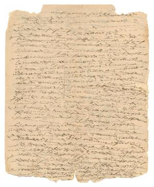 Primary view of object titled '[Letter from Ludwig Huth to Ferdinand Louis Huth, December 26, 1843]'.