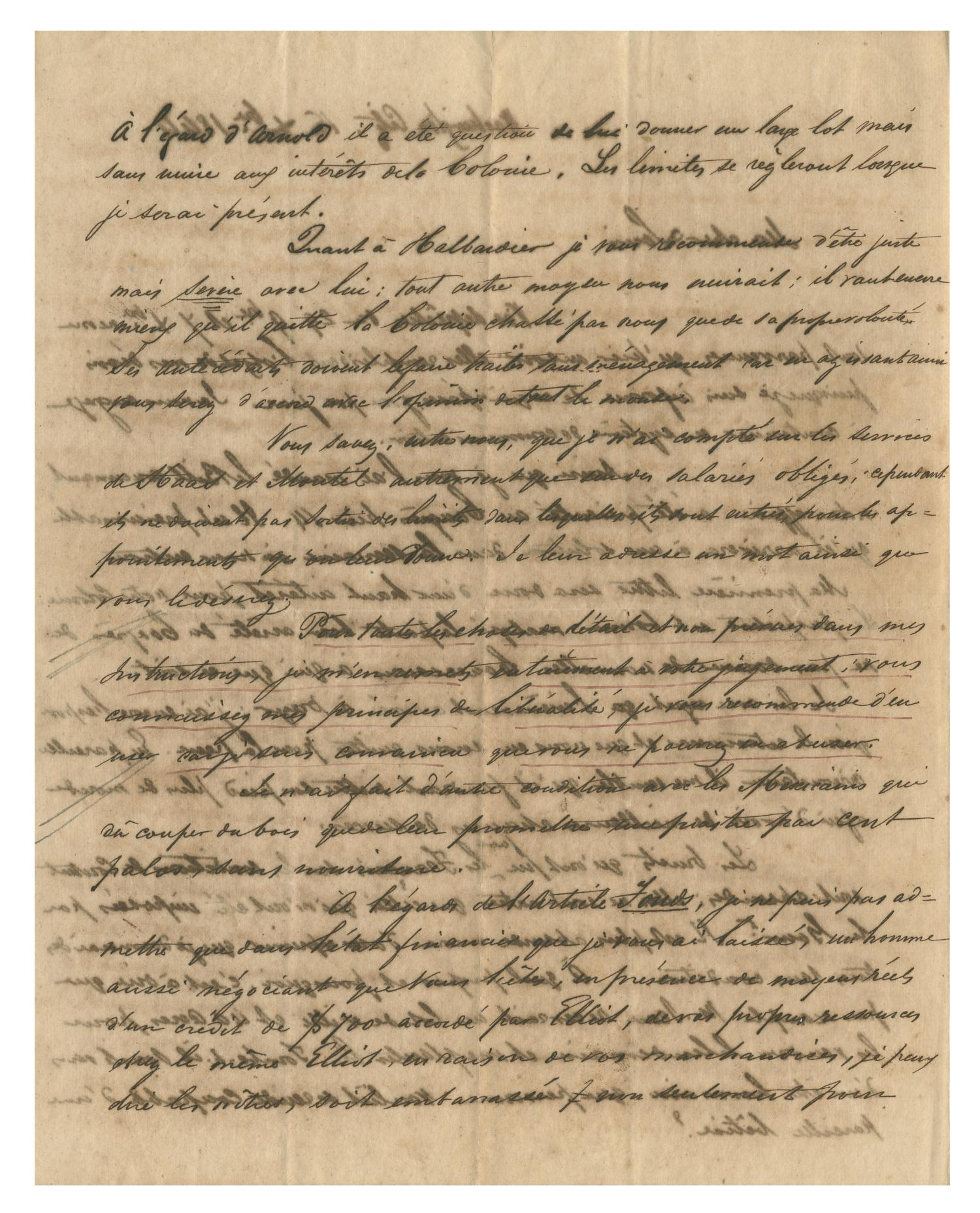 [Letter from Henri Castro to Ferdinand Louis Huth, December 14, 1844]                                                                                                      [Sequence #]: 2 of 4