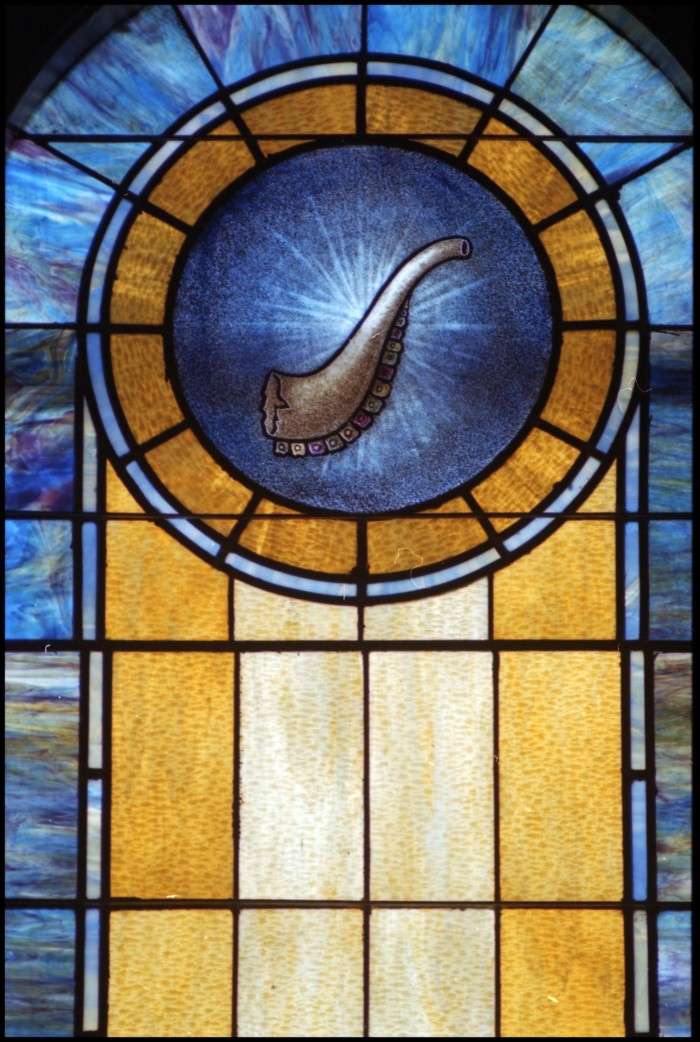 glass window pane double stained glass window pane of shofar stained the portal to texas history