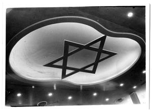 Primary view of object titled '[Floating Star, Interior of Beth-El Congregation Sanctuary]'.